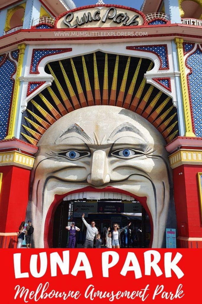 Luna Park Amusement Park Melbourne