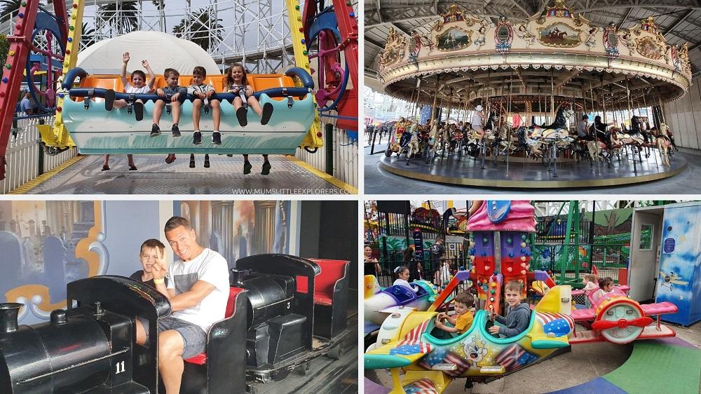 Luna Park Melbourne Kids Rides