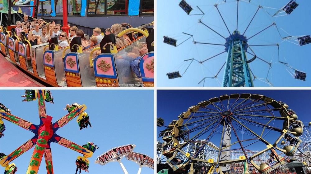 Luna Park Melbourne - Older Kids Rides
