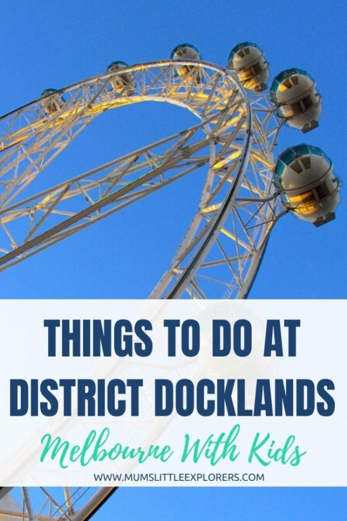 Things to do at District Docklands, Melbourne with Kids