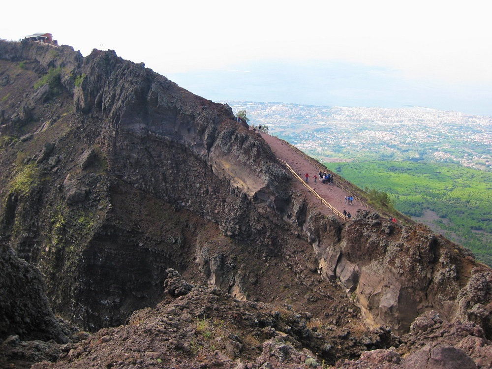Mt Vesuvius - Day trip from Naples Italy