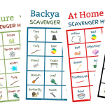 Scavenger Hunt Ideas for Kids With FREE Printable Scavenger Hunt Lists