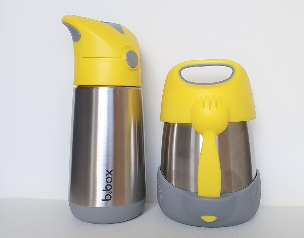 bbox drink bottle and food jar set
