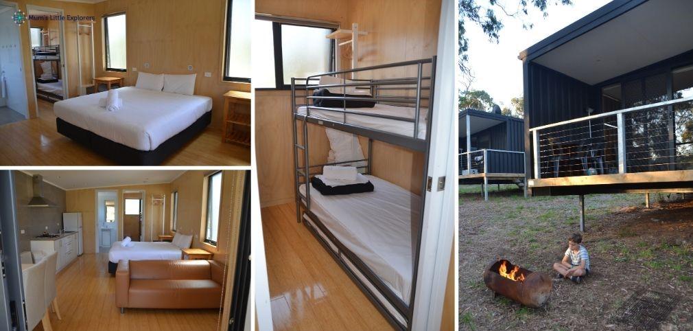 Solar Cabins Accommodation Bimbi Park