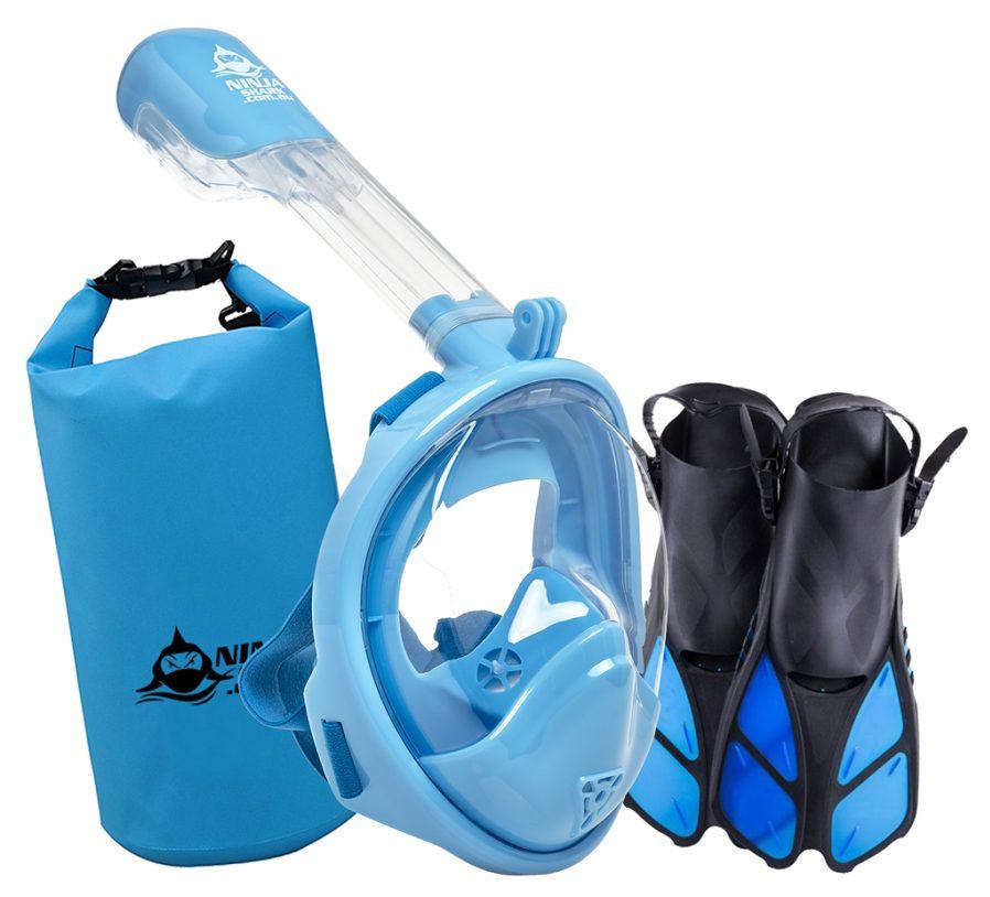 Ninja Shark Snorkle - Travel Gifts for Kids