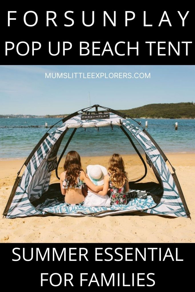 ForSunPlay Pop Up Beach Tent Review
