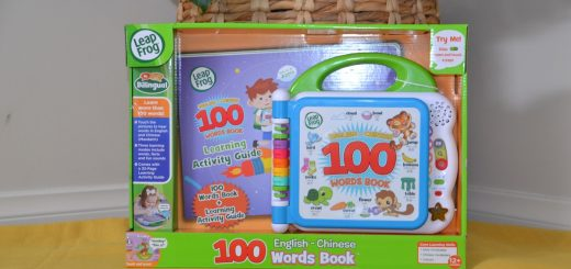 Leapfrog 100 words book English Chinese