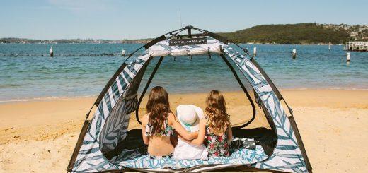 Pop Up Beach Tent Forsunplay