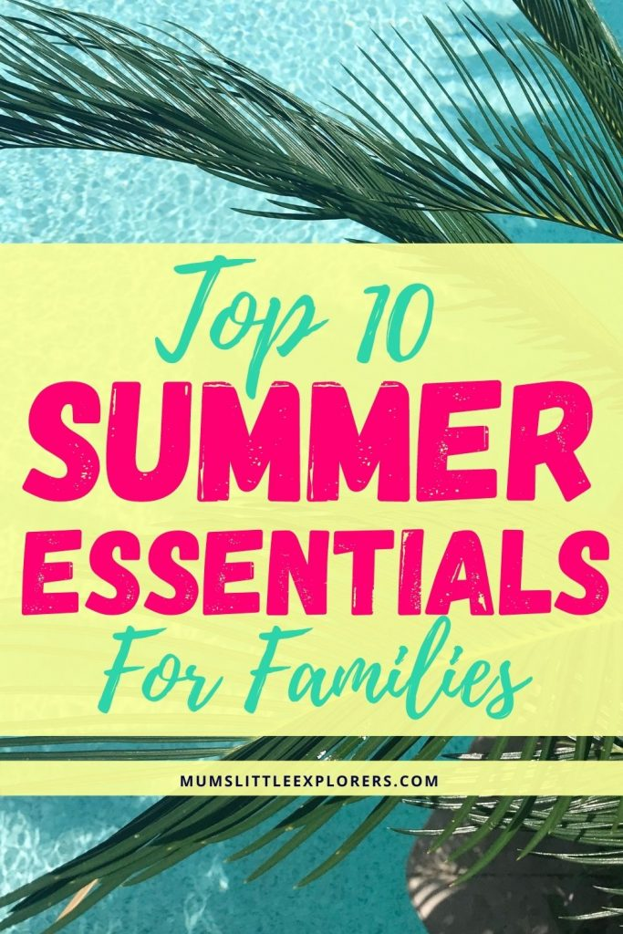 Summer Essentials for Families