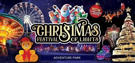 Adventure Park Christmas Event Melbourne