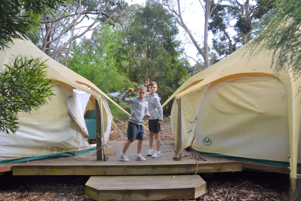 Glamping Family Belle Tents Big 4
