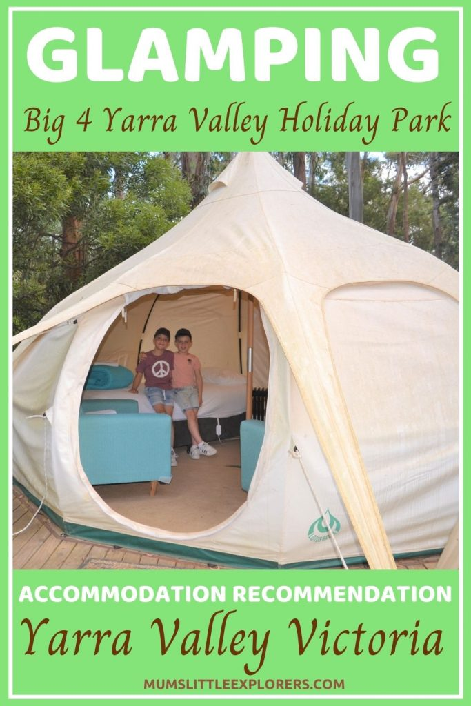 Glamping Melbourne, Yarra Valley Holiday Park