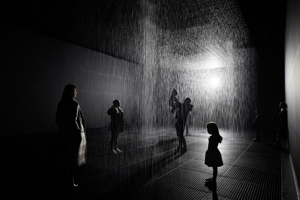 Rain Room school holidays Melbourne