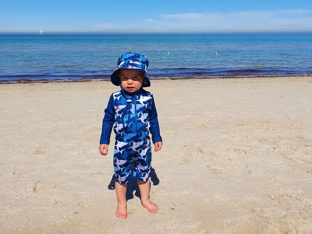 Sandy Feet Toddler Swimwear