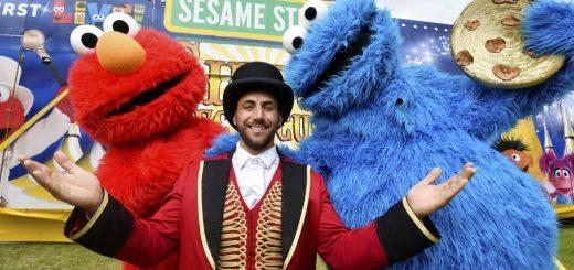 Sesame Street Silvers Circus