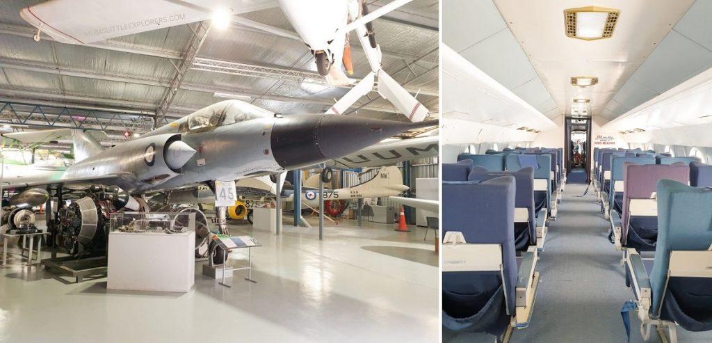 Australian Aviation Museum Planes