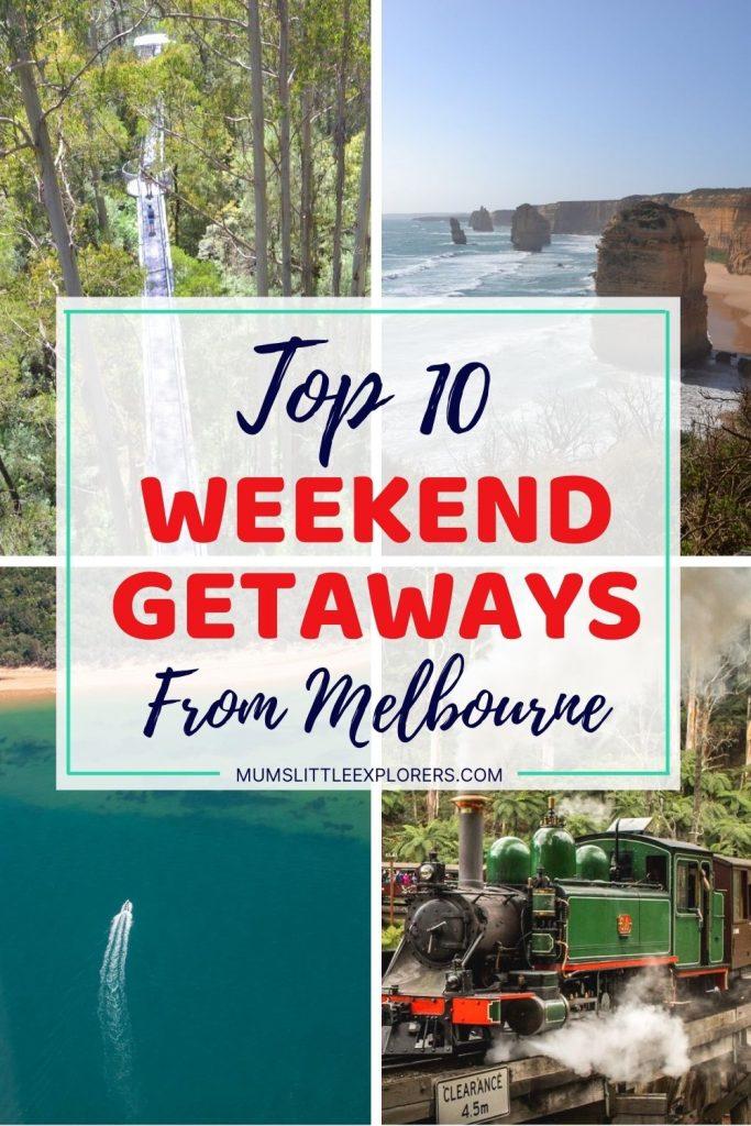 Best Weekend Getaways from Melbourne Victoria