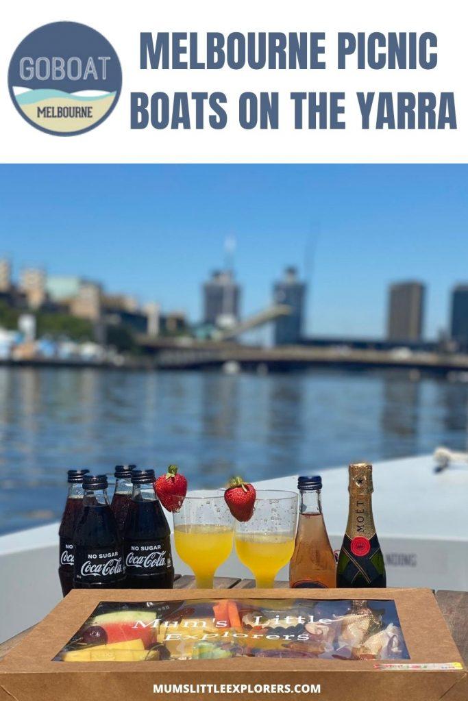 GoBoat Melbourne Boat Hire Yarra Riiver