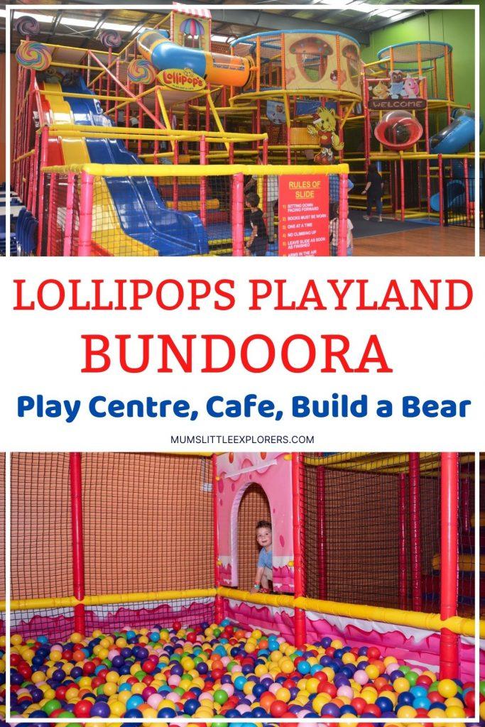 Lollipops Playland Bundoora Melbourne Playcentre