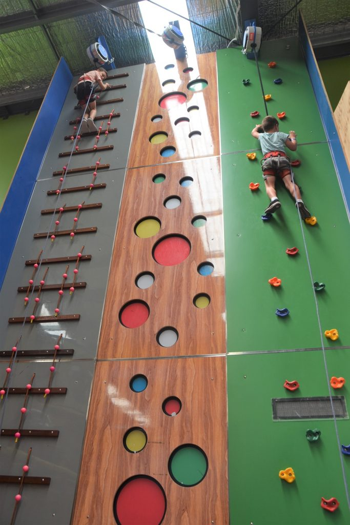 Lollipops Playland Climbing Wall