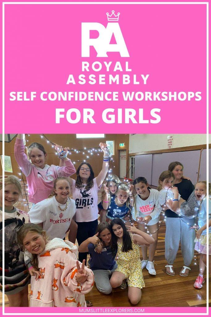 Confidence workshops Royal Assembly