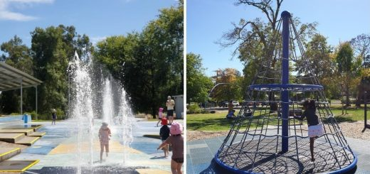 Seville Water Play Park Melbourne East