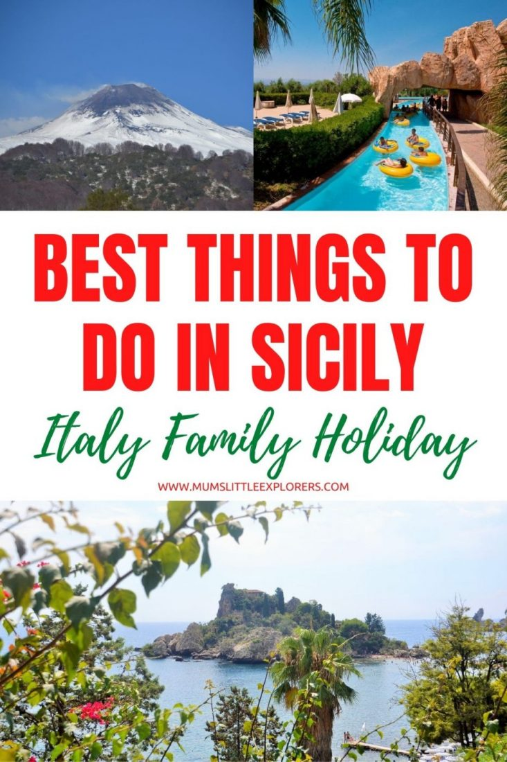 Sicily Family Holiday - Things to do with Kids