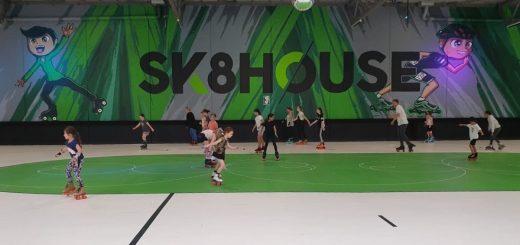 Sk8house Roller Skating Rink Melbourne