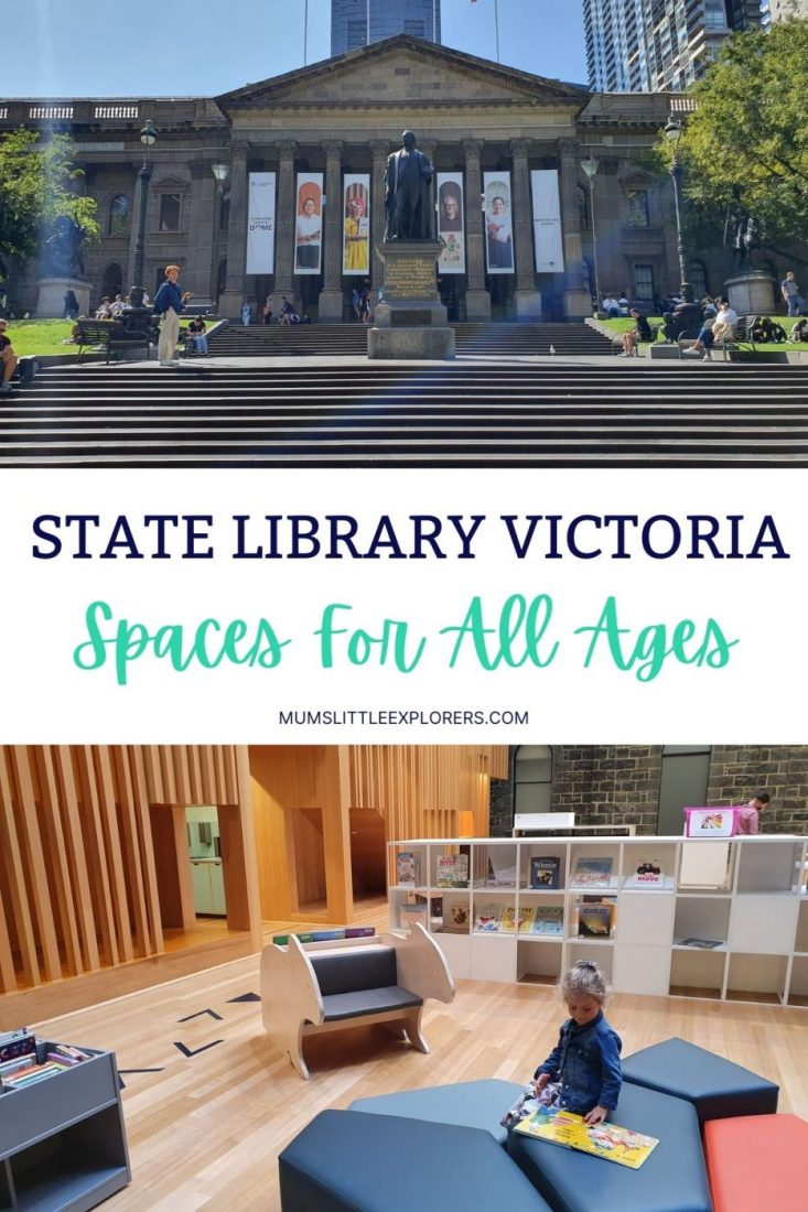 State Library Victoria Melbourne for Kids