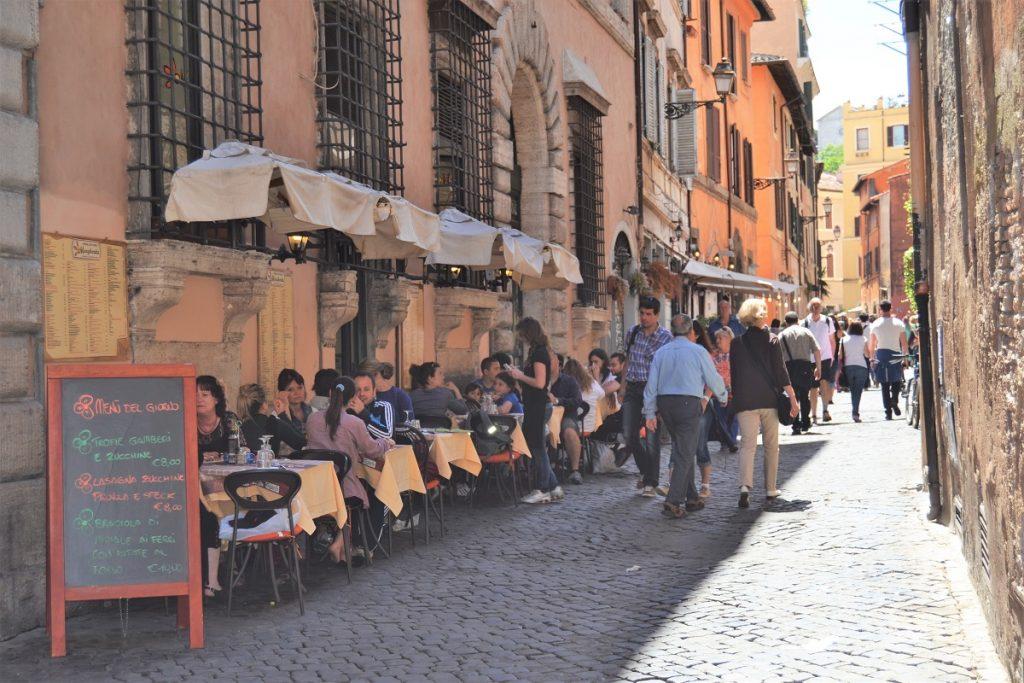 trastevere rome with children