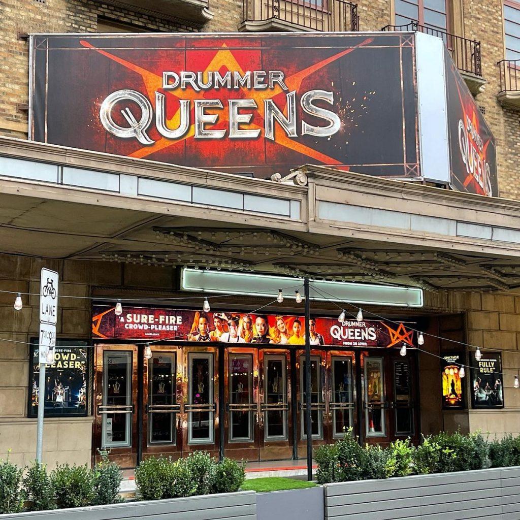 Drummer Queens Melbourne Comedy Theatre