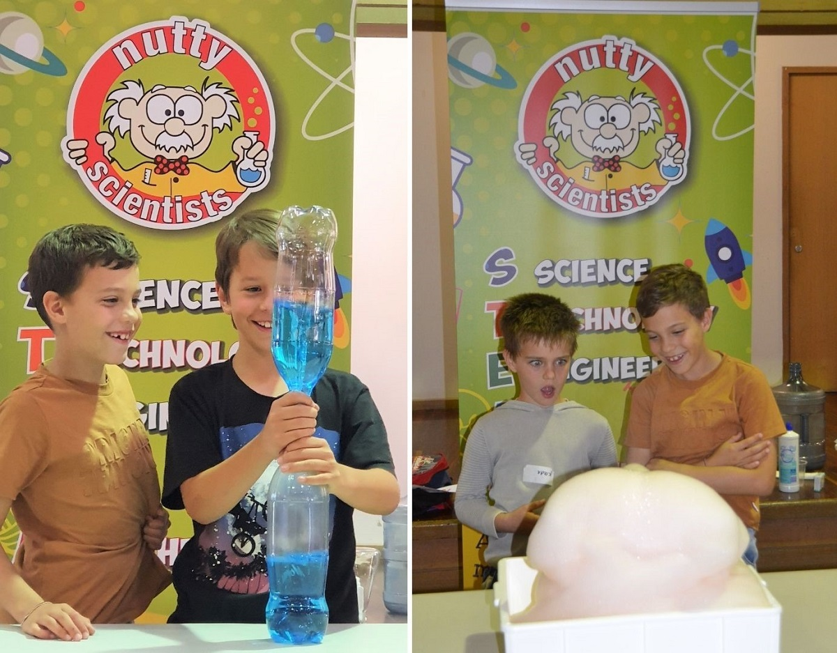 Science Experiments with Nutty Scientists
