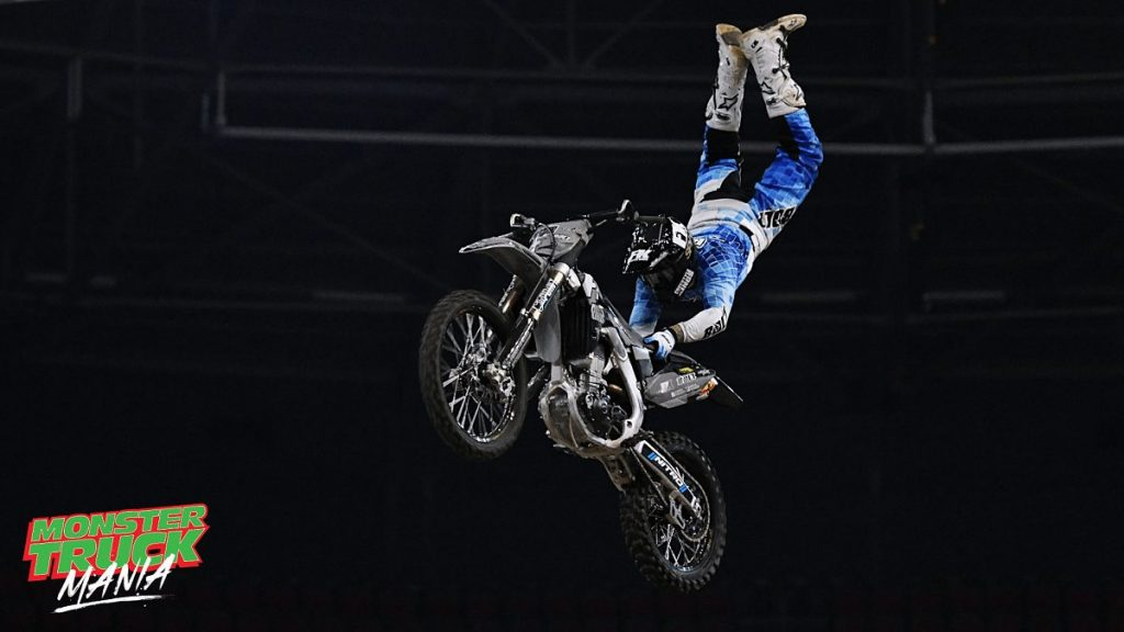 Freestyle Motor Cross at Monster Truck Mania