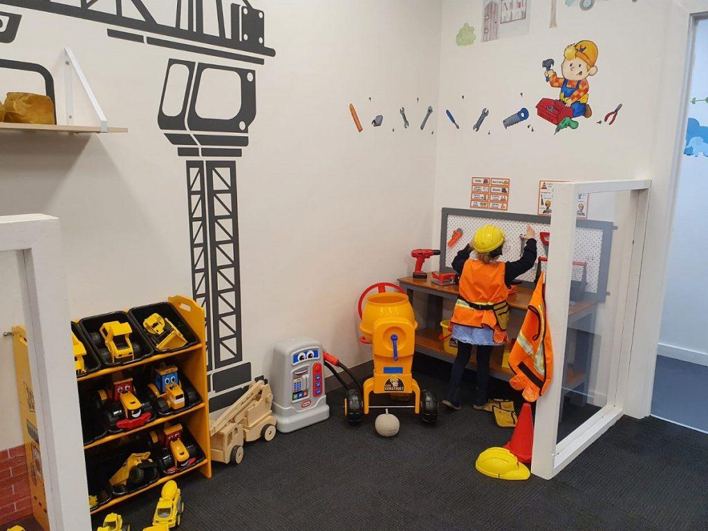 Hopscotch Play Cafe Construction Zone