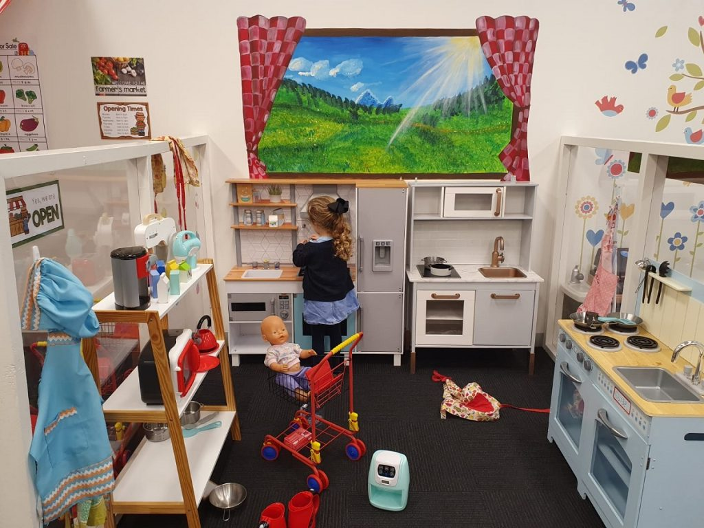 Hopscotch Play Cafe Kitchen