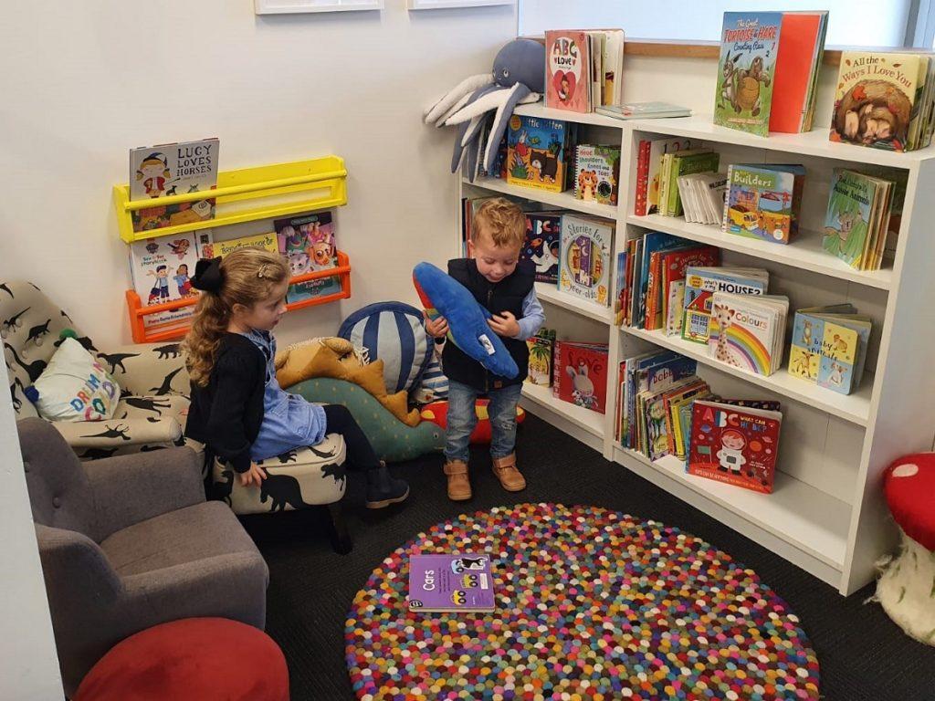 Hopscotch Play Cafe Library