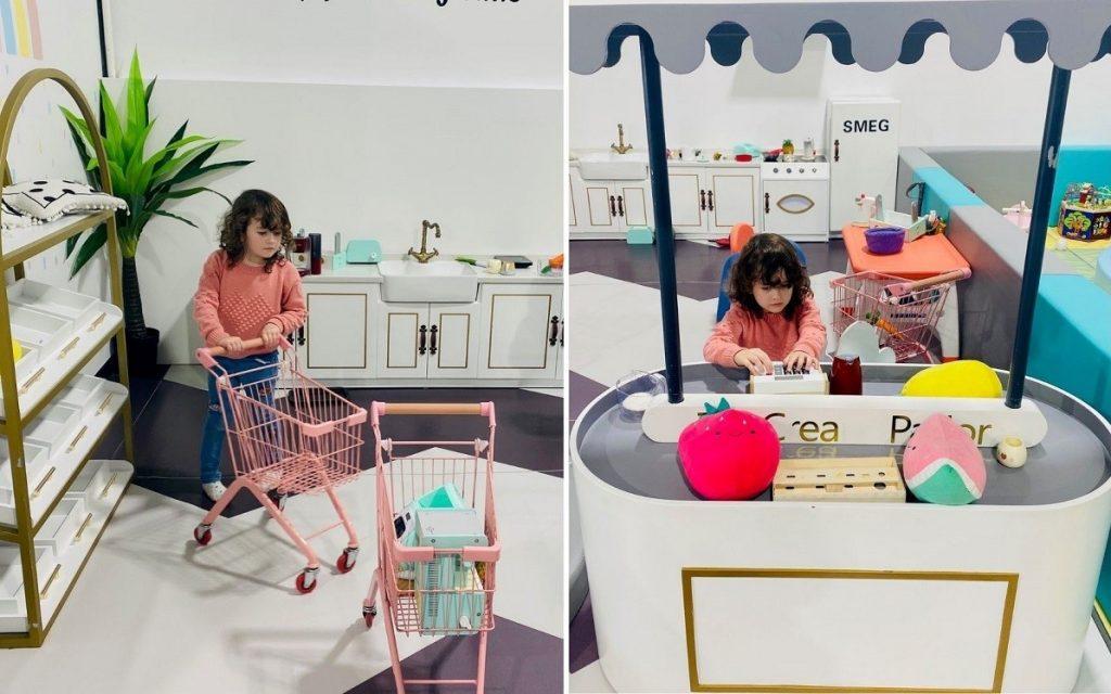 Landing Playcentre kitchen