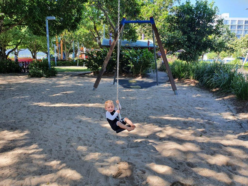 Muddys Playground Flying Fox