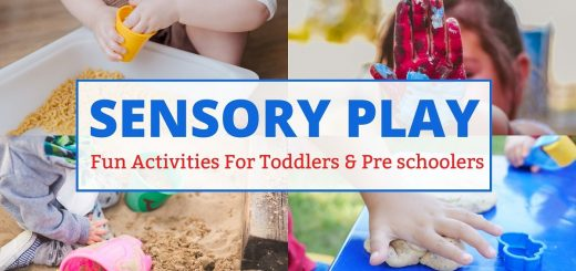 Sensory activities for toddlers and preschoolers