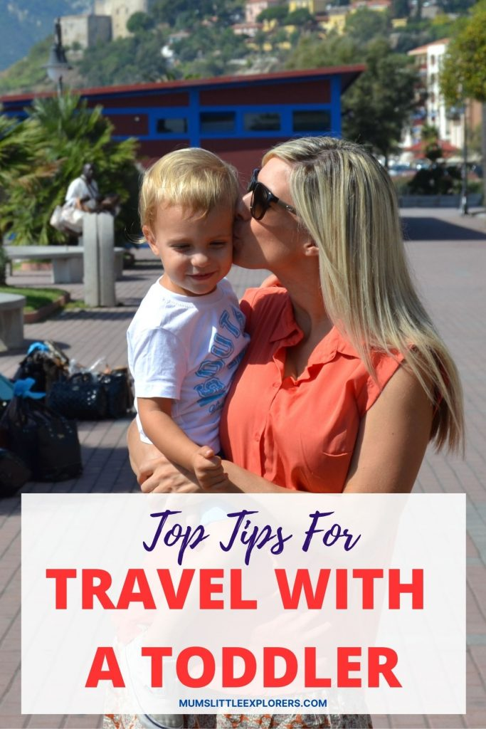Tips for travel with a toddler