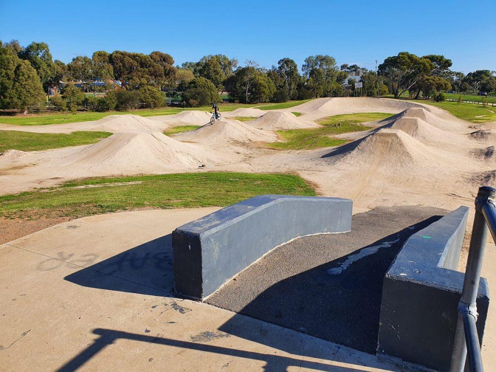Altona Meadows BMX Track Hill
