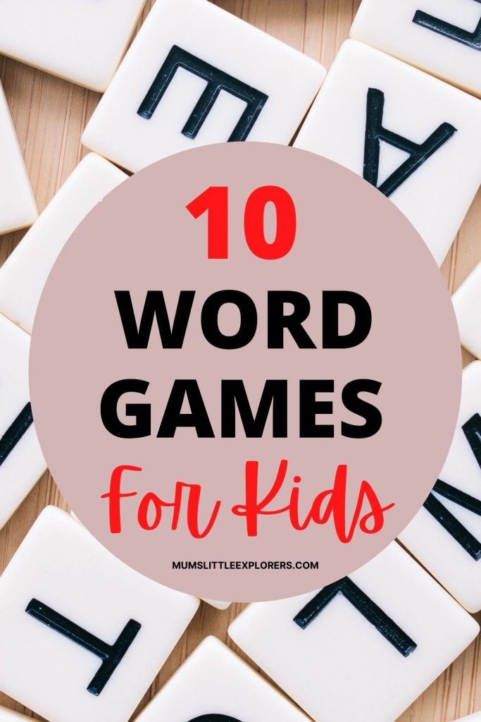 Best Word Games for Kids
