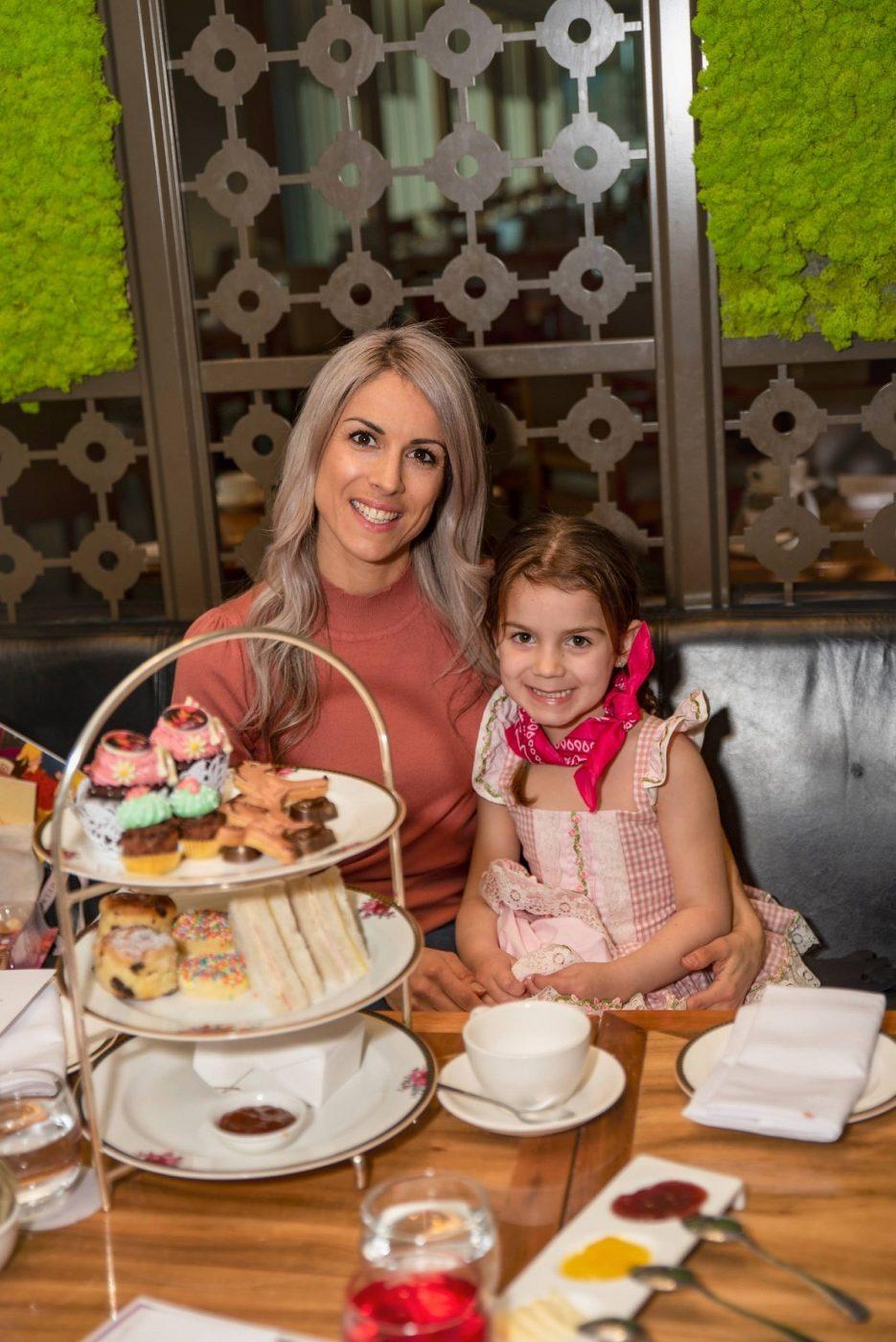 Spirit high tea for Kids langham melbourne