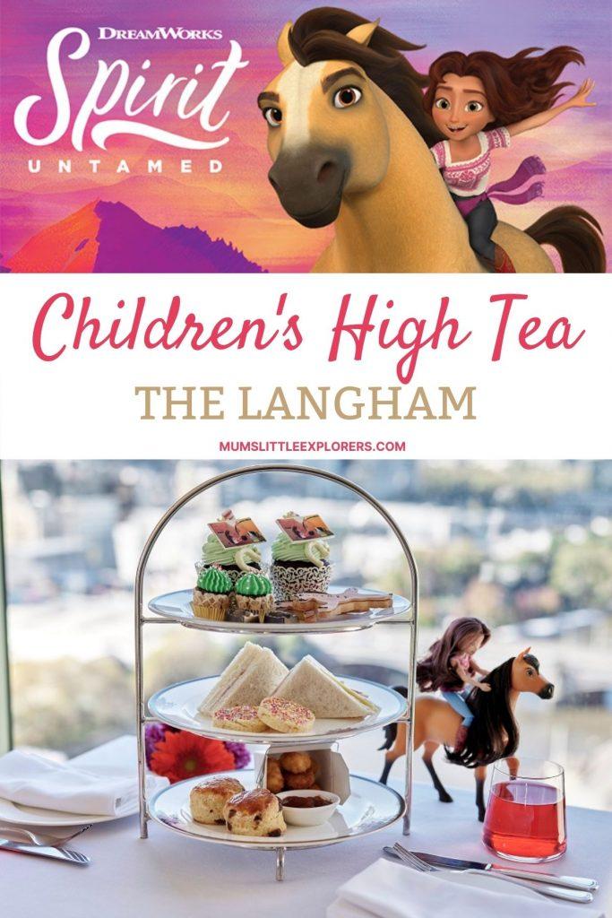 Spirit Themed Children's High Tea Langham