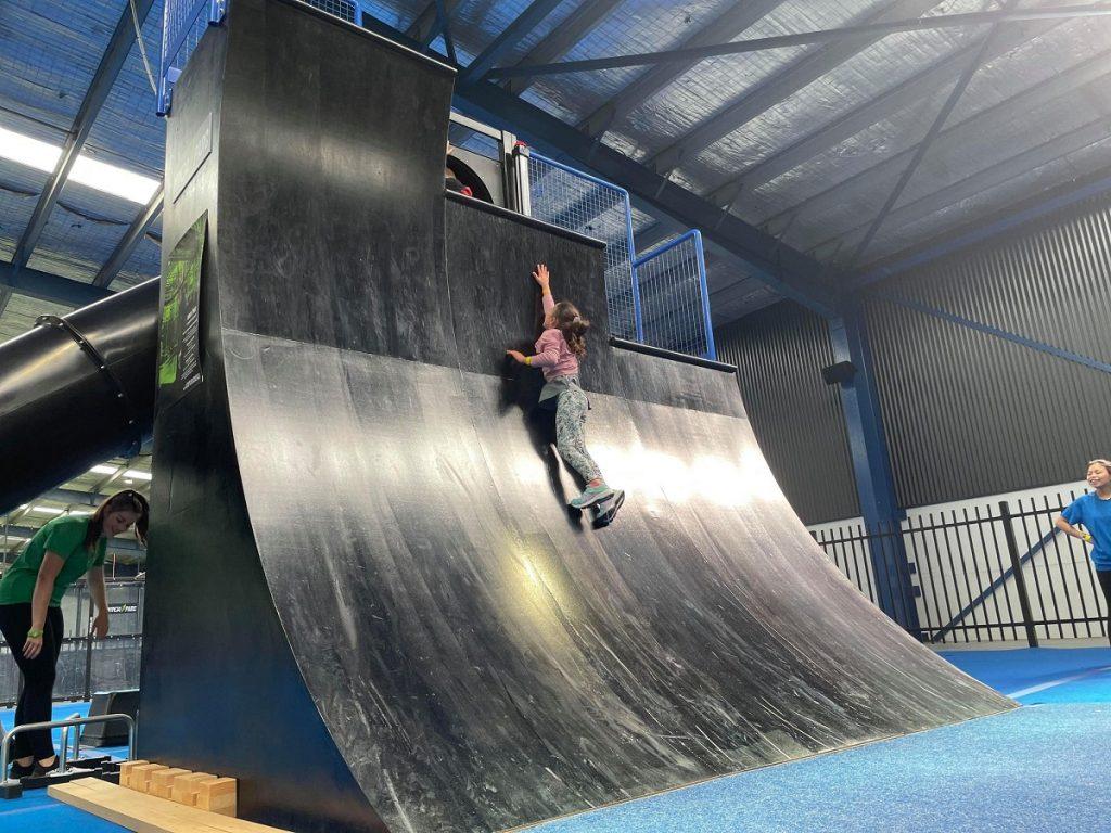 Warped Wall Ninja Parc