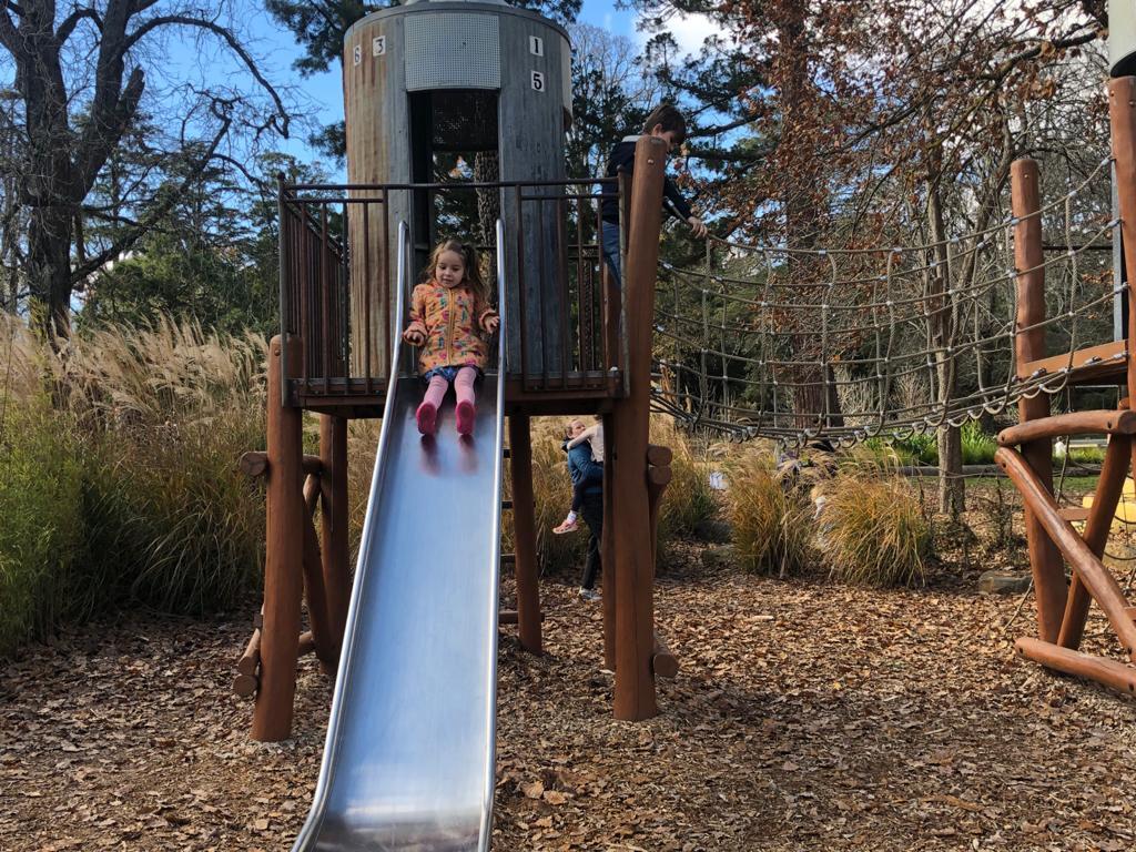 Botanical Gardens Slide Kyneton