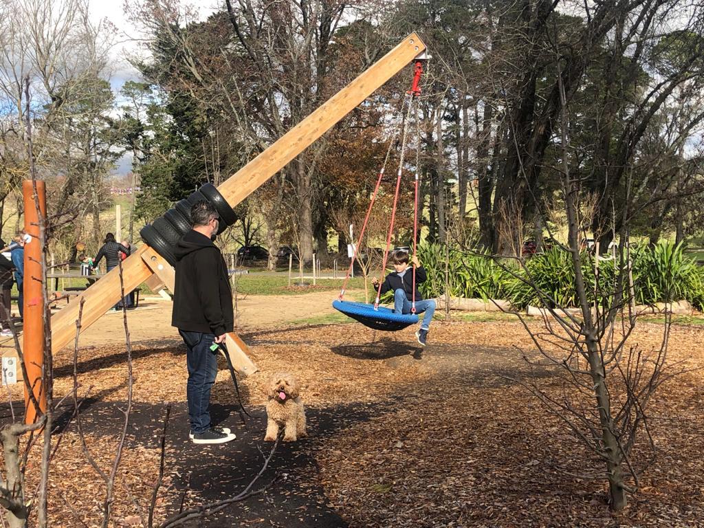 Botanical Gardens Swing Kyneton