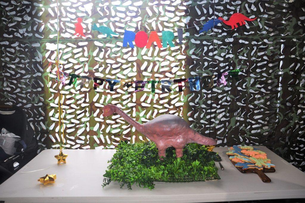 Dinosaur world birthday party