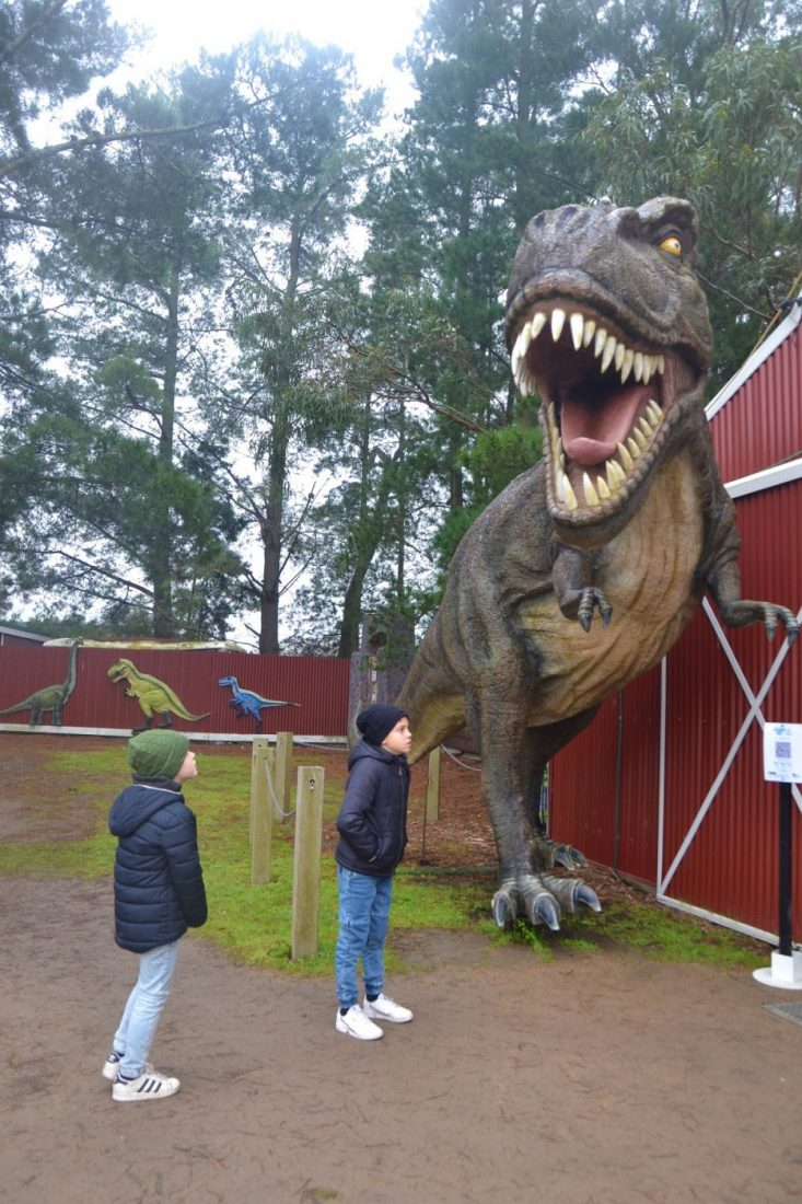 Dinosaur world entrance