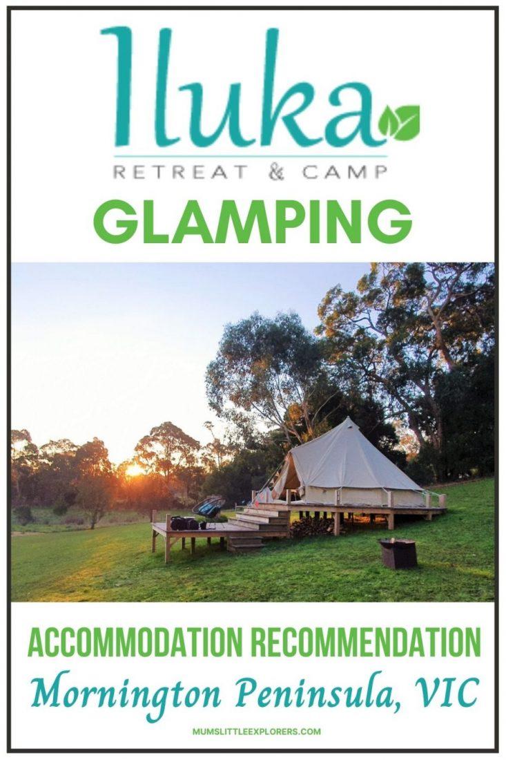 Glamping Mornington Peninsula iLuka Retreat